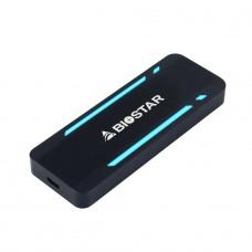 SSD Externo Portátil Biostar P500, 512GB, USB 3.2, Black, SR10AP3E35-PA1GJ-BS2