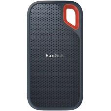 SSD Externo Portátil Sandisk Extreme 500 GB, Leitura 550MB/s, SDSSDE60−500G−G25