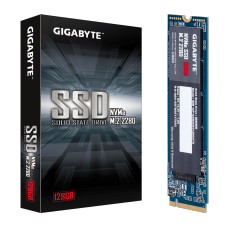 SSD Gigabyte, 128GB, M.2 2280, NVMe, Leitura 1550MBs e Gravação 550MBs, GP-GSM2NE3128GNTD