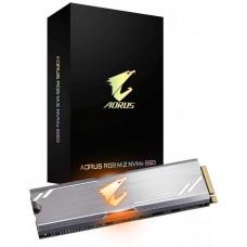 SSD Gigabyte Aorus RGB, 512GB, M.2 2280, NVMe, Leitura 3480MBs e Gravação 2000MBs, GP-ASM2NE2512GTTDR