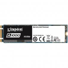 SSD Kingston A1000 480GB, M.2 2280, Leitura 1.500MBs e Gravação 900MBs, SA1000M8-480G