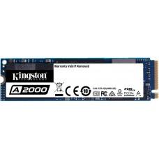 SSD Kingston A2000, 1TB, M.2 NVMe, Leitura 2200MBs e Gravação 2000MBs, SA2000M8/1000G