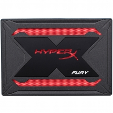 SSD Kingston Hyperx Fury RGB, 480GB, Sata III, Leitura 550MBs e Gravação 480MBs, SHFR200/480G