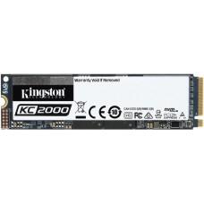 SSD Kingston KC2000 250GB, Leitura 3200MBs e Gravação 2200MBs, SKC2000M8/1000G