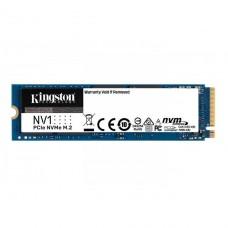 SSD Kingston NV1, 500GB, M.2 NVMe, 2280, Leitura 2100MBs e Gravação 1700MBs, SNVS/500G