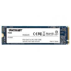 SSD Patriot P300, 1TB, NVME, Leitura 2100MBs e Gravação 1650MBs, P300P1TBM28