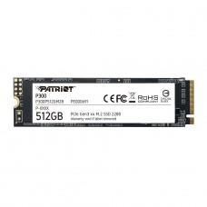 SSD Patriot P300, 512GB, M.2 2280 NVME, Leitura 1700MBs e Gravação 1100MBs, P300P512GM28