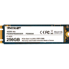 SSD Patriot Scorch M.2 80mm, 256GB, Leitura 1700MBs e Gravação 780MBs, PS256GPM280SSDR