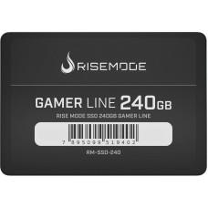 SSD Rise Mode Gamer Line, 240GB, Sata III, Leitura 535MBs e Gravação 435MBs, RM-SSD-240