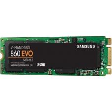 SSD Samsung 860 EVO 500GB, M.2 2280, Leitura 550MBs e Gravação 520MBs, MZ-N6E500BW