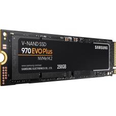 SSD Samsung 970 EVO Plus 250GB, M.2 2280, Leitura 3500MBs e Gravação 2300MBs, MZ-V7S250B/AM