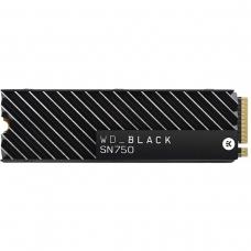 SSD WD Black SN750, 500GB, M.2 2280, NVME, Leituras: 3.470MB/s e Gravações: 2.600MB/s, WDS500G3XHC