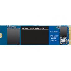 SSD WD Blue SN550 500GB, M.2 2280, NVME, Leitura 2400MBs e Gravação 950MBs, WDS500G2B0C