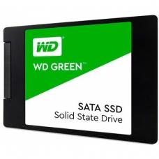 SSD WD Green 120GB, Sata III, Leitura 540MBs e Gravação 430MBs, Wds120g2g0a