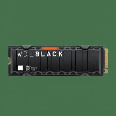 SSD Western Digital, WD_Black SN850, 2TB, NVMe, 7000 MB/s Leitura e 5300 MB/s2 Gravação, Com Heatsink, WDS200T1XHE