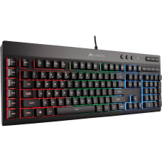 Teclado Corsair Gamer K55 RGB CH-9206015-NA LED