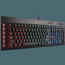 Teclado Corsair Gamer K55 RGB LED CH-9206015-BR ABNT2