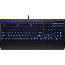 Teclado Mecânico Gamer Corsair K70 LUX Switch Cherry MX Red LED Azul CH-9101030-BR ABNT2