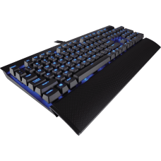 Teclado Mecânico Gamer Corsair K70 LUX Switch Cherry MX Red CH-9101030-NA LED Blue