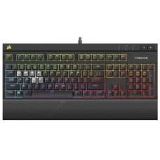 Teclado Corsair Strafe RGB, Switch Cherry MX Brown, ABNT2, CH-9000094-BR
