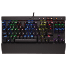 Teclado Mecânico Gamer Corsair K65 Rapidfire RGB, Switch Cherry MX Speed, CH-9110014-NA