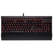 Teclado Mecânico Gamer Corsair K70 LUX Switch Cherry MX Brown Led CH-9101022-BR ABNT2