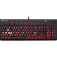 Teclado Mecânico Gamer Corsair Strafe Switch Cherry MX Blue Led CH-9000226-NA