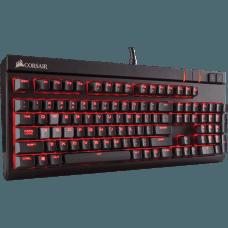 Teclado Mecânico Gamer Corsair Strafe Switch Cherry MX Blue Led CH-9000226-NA