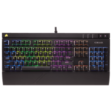 Teclado Mecânico Gamer Corsair Strafe RGB, Switch Cherry MX Blue, CH-9000120-NA