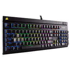 Teclado Mecânico Gamer Corsair Strafe RGB, Switch Cherry MX Blue, CH-9000120-NA