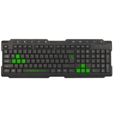 Teclado Gamer ELG Dragon War, ANSI, Black, TGDW