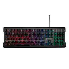 Teclado Gamer Fantech Soldier, RGB, Black, K612