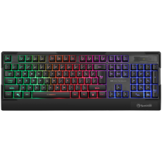 Teclado Gamer Marvo K606, Membrana, Rainbow