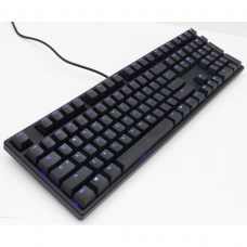 Teclado Gamer Mecanico Ducky Channel One, LED Blue, Switch Brown