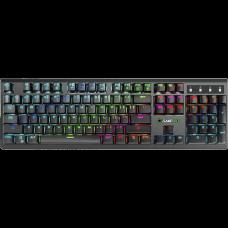 Teclado Gamer Mecânico Gamemax KG801, Switch Blue, RGB - Open Box