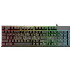 Teclado Gamer Mecânico Gamemax KG901, Switch Blue, US, Rainbow