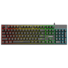 Teclado Gamer Mecânico Gamemax KG901, Switch Blue, US, RGB - Open Box