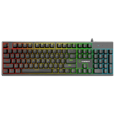 Teclado Gamer Mecânico Gamemax KG901, Switch Blue, US, RGB
