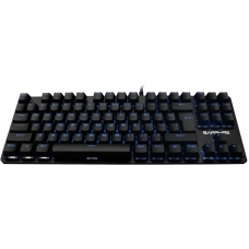 Teclado Gamer Mecanico Sapphire SP12 Black Led Blue Switch Brown