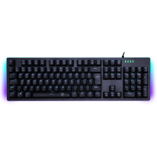 Teclado Gamer Mecânico T-Dagger Bermuda, LED white, Switch Blue, Black, ABNT2, T-TGK312-BL