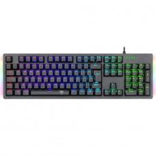 Teclado Gamer Mecânico T-Dagger Bermuda, RGB, Switch Brown, Black, ABNT2, T-TGK312-BR - Open Box
