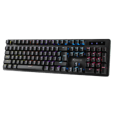 Teclado Gamer Mecânico Xtrike Me GK-916, Rainbow, Switch Blue, ANSI, Black, GK-916
