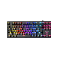 Teclado Gamer Mecânico Xtrike Me, Rainbow, Switch Blue, Black, GK-913