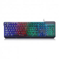 Teclado Gamer Motospeed K70, Rainbow Membrana, FMSTC0022PTO