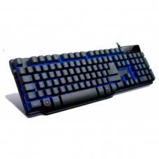 Teclado Semi Mecânico Gamer Mymax, Led Blue, Hydra MGK-K8/BL