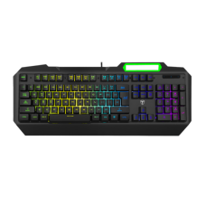 Teclado Gamer T-Dagger Gunboat, RGB, Black, T-TGK201