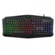 Teclado Gamer T-Dagger Tanker, Rainbow, Black, T-TGK106 - Open Box
