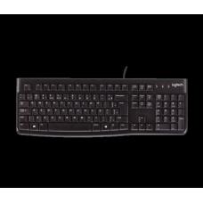 Teclado Logitech K120 ABNT2 Black, 920-004423 - Open Box