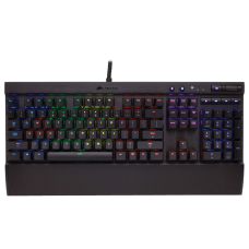 Teclado Mecânico Gamer Corsair K70 RGB Switch Cherry MX Red CH-9000118-BR ABNT2