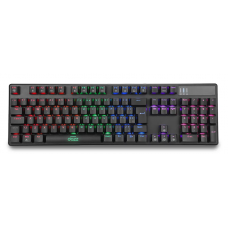 Teclado Mecânico Dazz Cybertronic Content Blue, Backlit, Switch Blue, ABNT2, USB